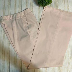H&M Pink Straight Leg Dress Pants